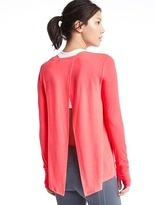 Gap GapFit Breathe tie-back tee