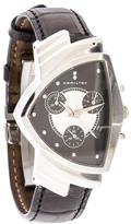 Hamilton Ventura Men In Black II Chronograph Watch