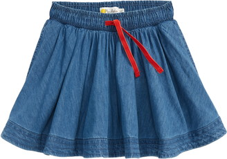 Boden Kids' Woven Twirly Skirt