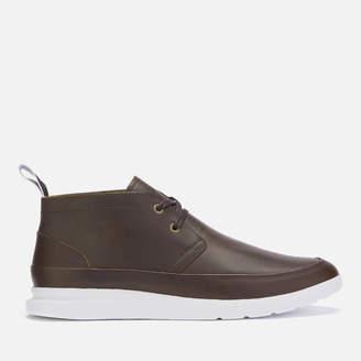Paul Smith Men's Leon Leather Chukka Boots - Dark Brown