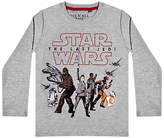 Star Wars Children's Episode 8 T-Shirt, Grey