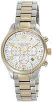 Nautica Women's N20060M BFD 101 Silver Dial Watch