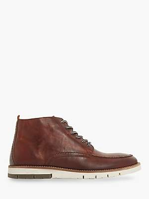 Bertie Cashin II Leather Boots, Tan