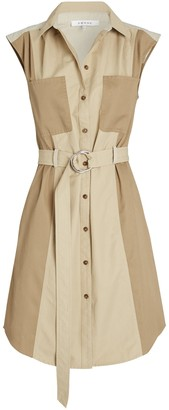Frame Cargo Belted Mini Dress