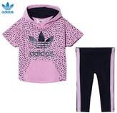 adidas Pink Infant 2 Piece Set
