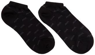 Ermenegildo Zegna Black XXX Sneaker Socks