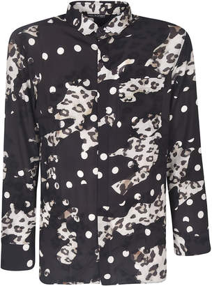 Neil Barrett Semi-leopard Detail Shirt