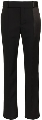 Haider Ackermann High Waisted Wool Slim Leg Trousers