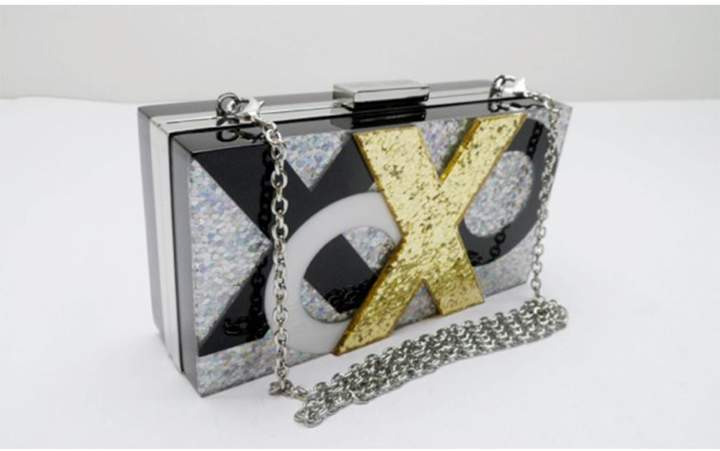 Sondra Roberts Xoxo Box Clutch