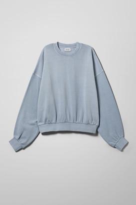 Weekday Pamela Oversized Sweatshirt - Blue