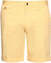 Incotex Slim-leg stretch-cotton shorts