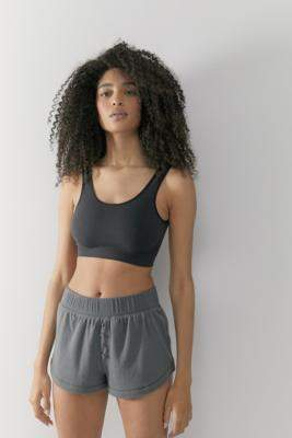 Out From Under Stay In Lounge Shorts - grey L at Urban Outfitters