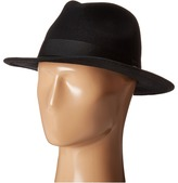 Scotch & Soda Classic Fedora in Wool Quality
