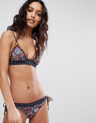 Tigerlily Paradis Tara Triangle Bikini Top