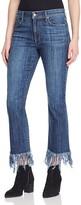 Pistola Tallis Fringe Hem Jeans in Shy Blue - 100% Bloomingdale's Exclusive
