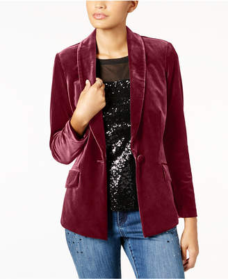 INC International Concepts Inc Petite Velvet Blazer