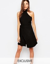 Finders Keepers Exclusive Lay It Down Dress in Black
