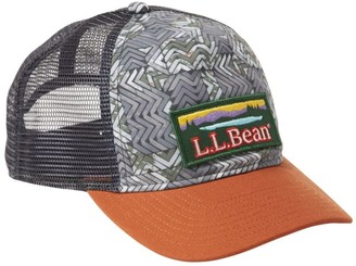 L.L. Bean L.L.Bean Women's Graphic Trucker Hat, Katahdin