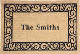 Asstd National Brand Personalized Coir Outdoor Rectangular Doormats