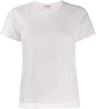 Comme Des Garçons Pre Owned '2000s patterned T-shirt