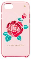 Kate Spade la vie en rose jeweled iPhone 7 case, pink
