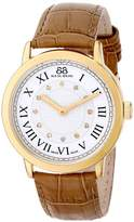88 Rue du Rhone Women's 87WA120011 Analog Display Swiss Quartz Beige Watch