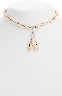 Isabel Marant Shell Choker Necklace