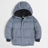 J.Crew Factory Boys' marshmallow puffer jacket