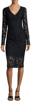 Rachel Roy Lace Back Cut Out Sheath Dress