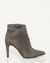 Le Château Suede Pointy Toe Ankle Boot