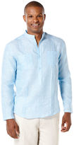 Cubavera Long Sleeve 2 Upper Pockets With Front Tucking Shirt