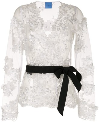 macgraw Greta Crossover blouse