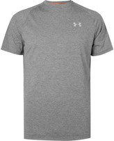Under Armour Transport Mesh-Panelled Jersey T-Shirt