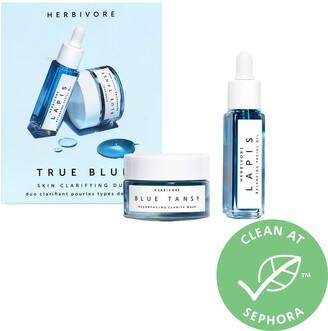 Herbivore Mini True Blue Skin Clarifying Duo