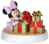 Precious Moments Disney® Showcase Holiday Surprise Baby Minnie Figurine