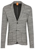 Hugo Boss Wellford Slim Fit, Cotton Pique Sweat Sport Coat M Grey