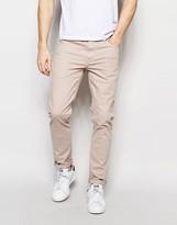 Asos Skinny Jeans In Stone