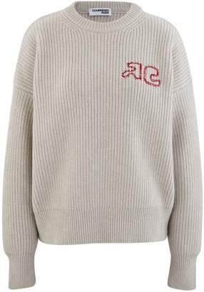 Courreges Wool blend jumper