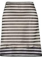 Clu Striped Tulle Mini Skirt