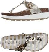 CAFe'NOIR Toe strap sandals - Item 11144406