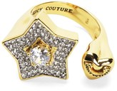 Juicy Couture Pave Star And Heart Ring