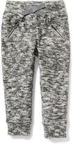 Old Navy Zip-Pocket Sweater-Knit Joggers for Toddler