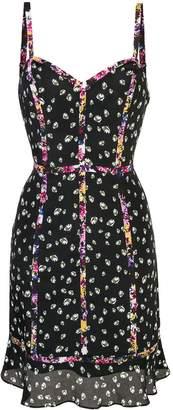 Nicole Miller Ditzy Stems mini dress