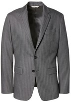 Banana Republic Heritage Slim Charcoal Herringbone Suit Jacket