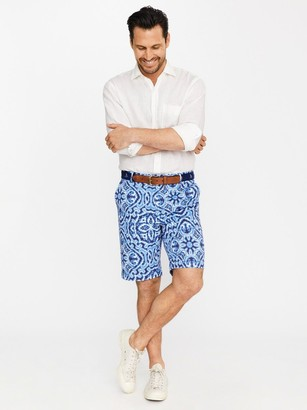 J.Mclaughlin Oliver Shorts in Elba Paisley