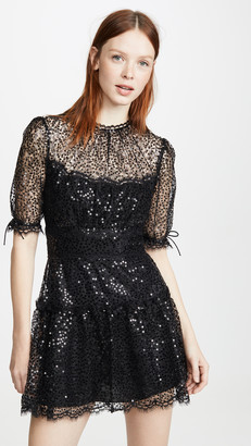 Jonathan Simkhai Sequined Mini Dress