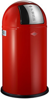 Wesco Pushboy Bin - 50L - Red