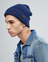 Barbour Langley Beanie In Navy