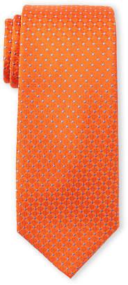 Tommy Hilfiger Orange Connected Dot Tie