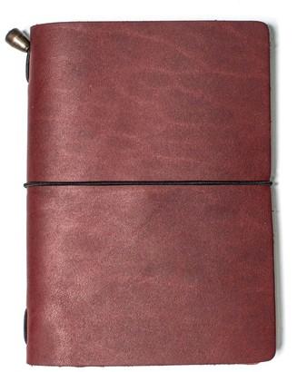 Mr Fox Handmade Passport Size Vino Leather Traveler's Notebook